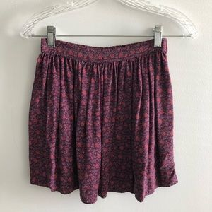 Floral skirt from American Eagle